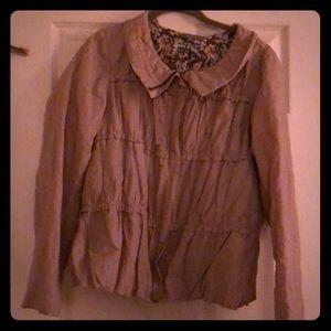 Spring/Summer light weight jacket